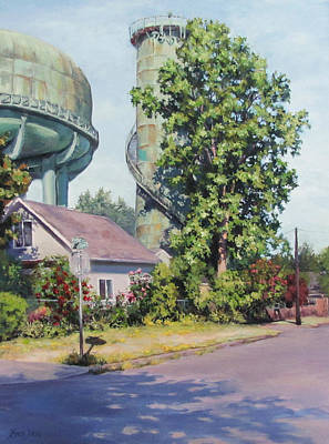 Painting - The Tower by Karen Ilari