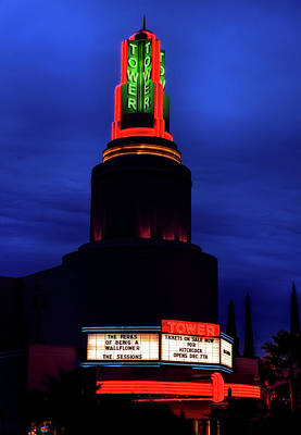 Photograph - The Tower Theatre by L O C