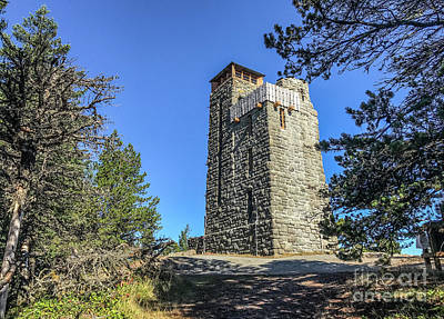Photograph - The Tower by William Wyckoff