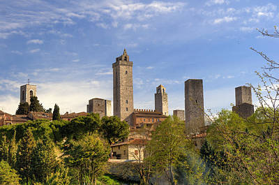 Photograph - The Towers Of San Gimignano by Mick House