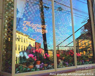 Photograph - The Town In The Window by Tami Quigley