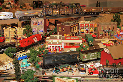 Photograph - The Town Layout Thomas Trains Art by Reid Callaway