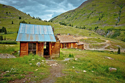Photograph - The Town Of Animas Forks by Linda Unger