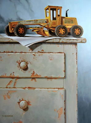 Painting - The Toy Grader by William Albanese Sr