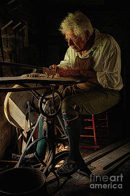 Negative Space - The Toy Maker by Priscilla Burgers