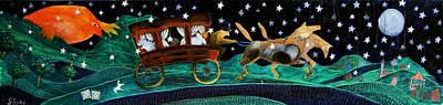The Toys Merchant Original by Giovanni Cecchini