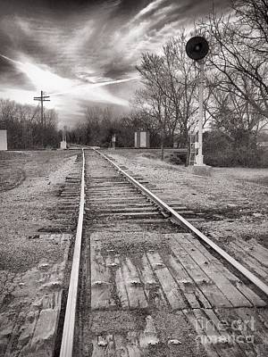 Photograph - The Tracks by Jenny Revitz Soper