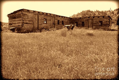 Photograph - The Trading Post  by American West Legend By Olivier Le Queinec
