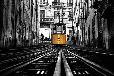 Photograph - The Tram by Jorge Maia