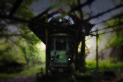 Photograph - The Tram Leaves The Station... by Enrico Pelos
