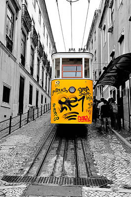 Photograph - The Tram by Marwan Khoury