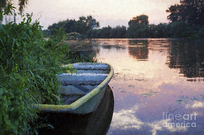 Photograph - The Tranquil Elbe by Diane Macdonald