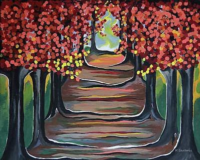 Painting - The Tranquility Of Nature by Kathleen Sartoris