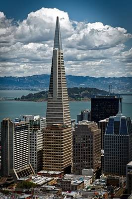 Alcatraz Photograph - The Transamerica Building by Mountain Dreams