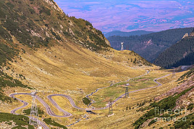 Photograph - The Transfagarasan Mountain Road 1 by Claudia M Photography