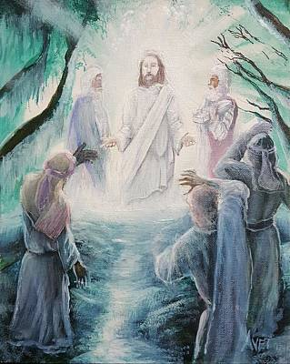 The Transfiguration Of Christ Original
