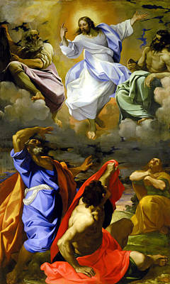 Transfiguration Painting - The Transfiguration Of Our Lord by Lodovico Carracci