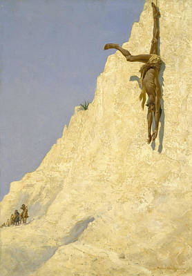 Painting - The Transgressor by Frederic Remington