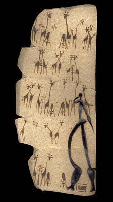Ceramic Art - The Traveler by Bates Clark