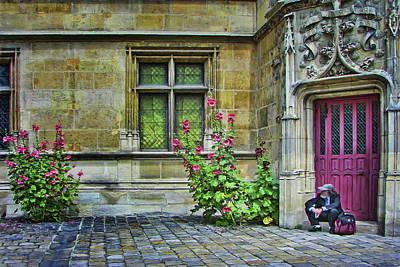 Photograph - The Traveler - Cluny Museum - Paris by Nikolyn McDonald
