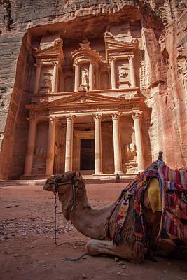 The Treasury. Petra, Jordan. Art Print