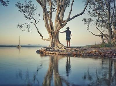Photograph - The Tree And Me by Keiran Lusk