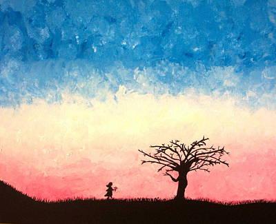 The Tree Art Print by Jennifer Hernandez