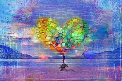 Photograph - The Tree Of Hearts by Tara Turner