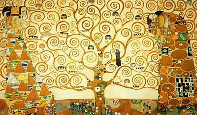 The Tree Of Life Art Print by Gustav Klimt