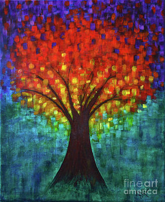 Painting - The Tree Of Life by Nadine Larder