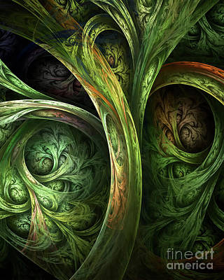 Digital Art - The Tree Of Life by Olga Hamilton