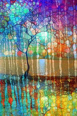 The Tree Of Missing Memories Print by Tara Turner