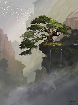 Digital Art - The Tree by Steve Goad