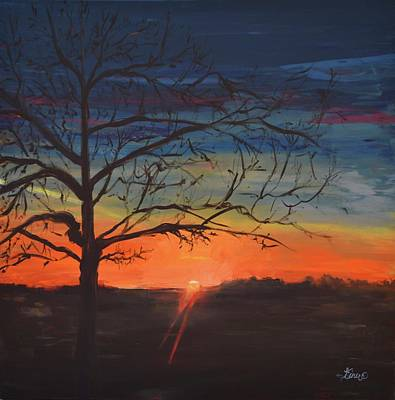 Painting - The Tree by Terri Einer