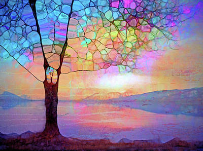 Digital Art - The Tree That Understands by Tara Turner