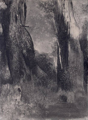 Painting - The Trees by Odilon Redon