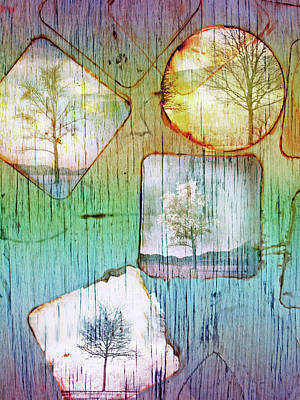 Digital Art - The Trees by Tara Turner