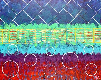 Painting - The Trestle by Jeremy Aiyadurai