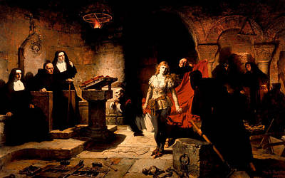 Judgment Painting - The Trial Of Constance De Beverly by Mountain Dreams