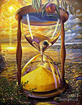 Cycles Painting - The Trial Of Time by Alfred Dolezal
