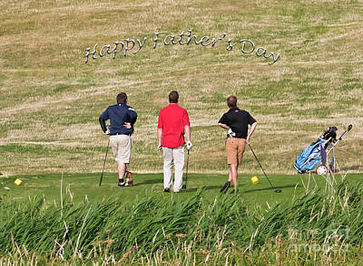 Photograph - The Trials And Tribulations Of Golf Card by Terri Waters