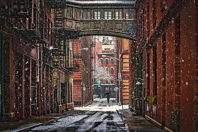 Photograph - The Tribeca Skybridge by Chris Lord