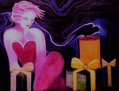 Painting - The Trickster by Carolyn LeGrand