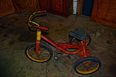 Photograph - The Tricycle by Kathleen Stephens