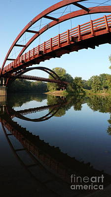 Photograph - The Tridge by Erick Schmidt