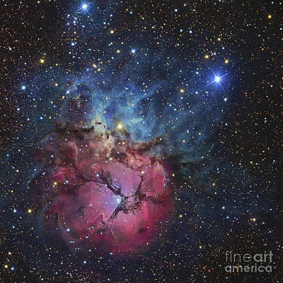 The Trifid Nebula Art Print by R Jay GaBany