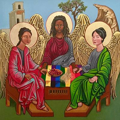 Painting - The Trinity by Kelly Latimore