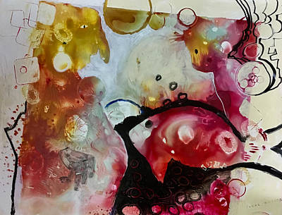 Painting - The Trio by Carole Johnson