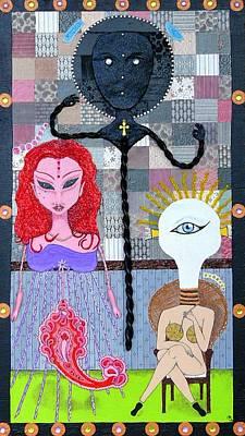 The Trippy Trinity Original by Chandra Daniels