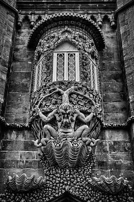 Photograph - The Triton Of Pena Palace. by Pablo Lopez